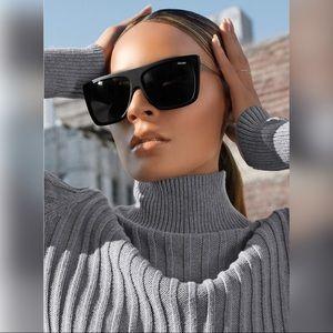 Quay x Desi Perkins OTL II Shield Sunglasses